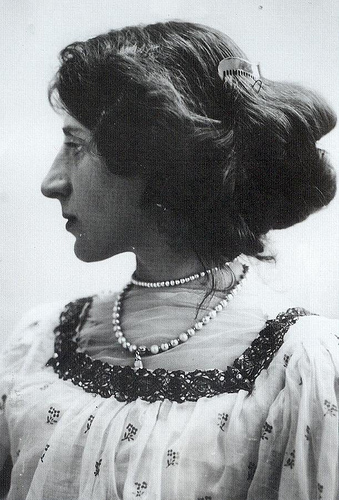 4 June 1903, Lady Ottoline Morrell, Bloomsbury Group society and literary hostess.
